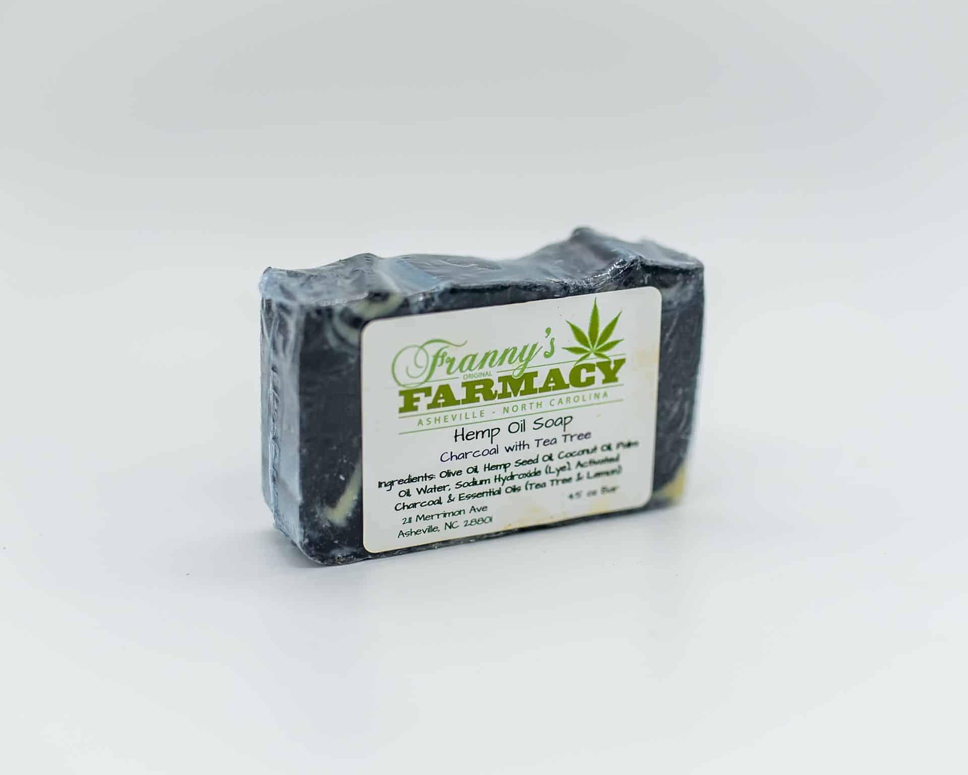 Franny's Farmacy Charcoal Hemp Oil Soap