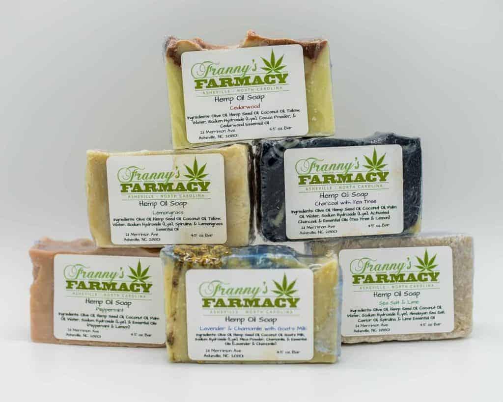Franny's Farmacy Hemp Oil Soap