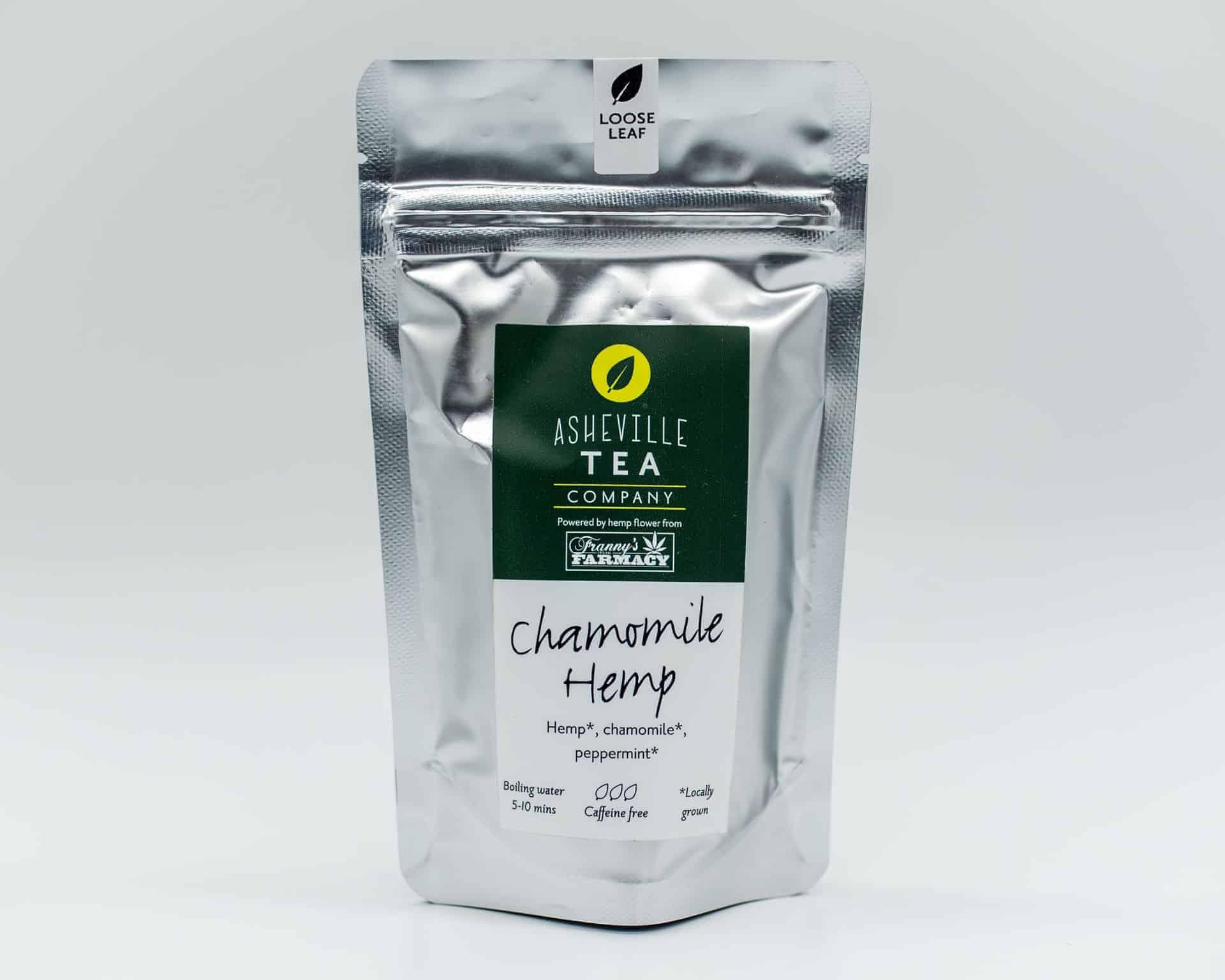 Asheville Tea Company Chamomile Hemp Flavor
