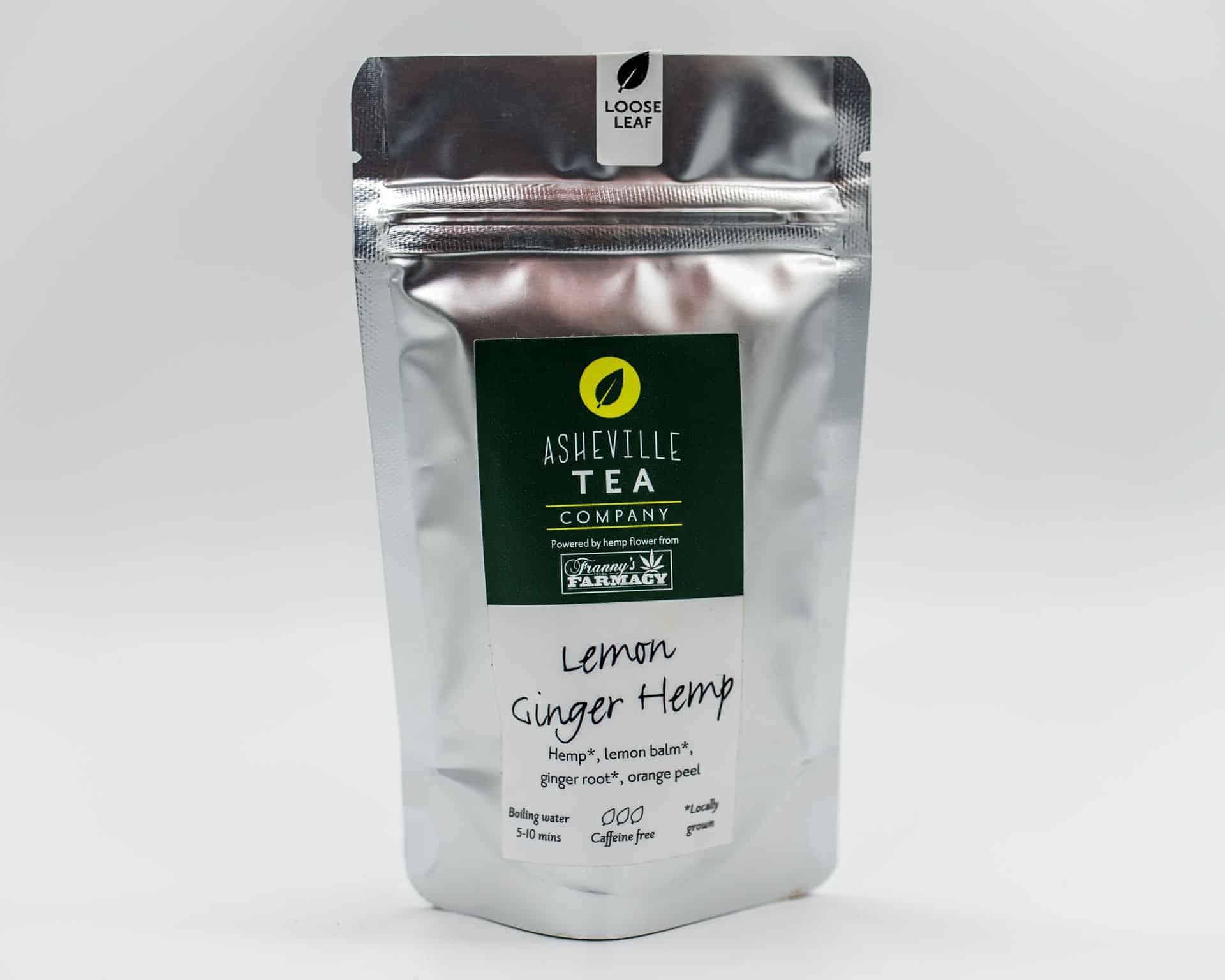 Asheville Tea Company Lemon Ginger Hemp Flavor