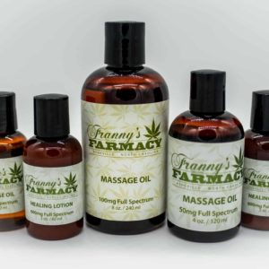 Franny's Farmacy Massage Oils