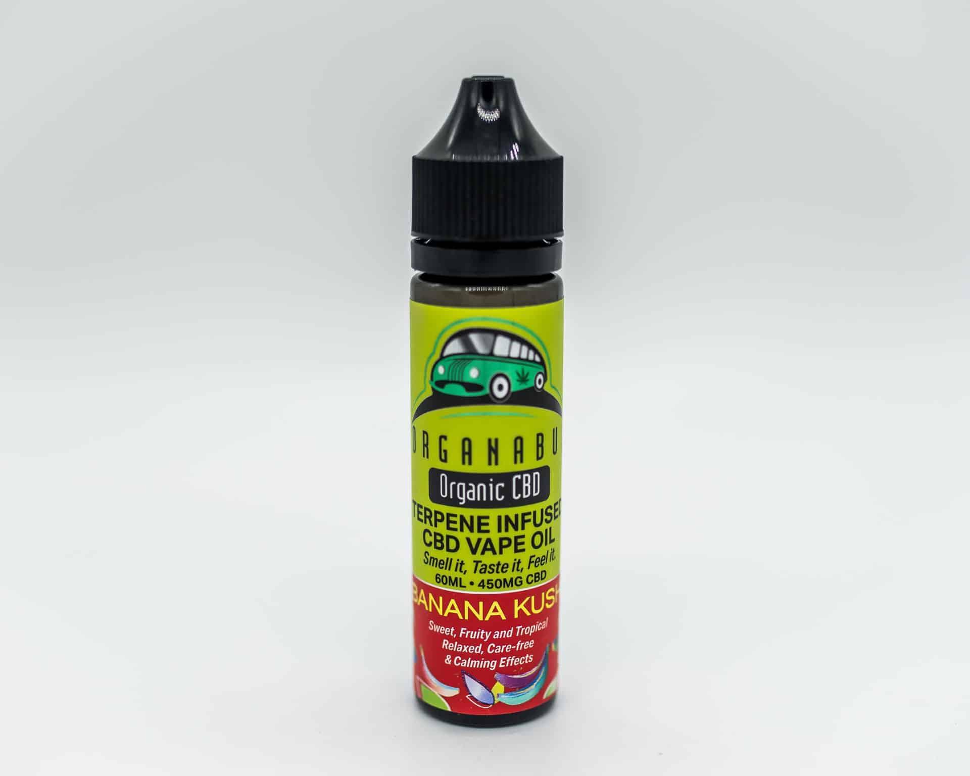 Organaus Organic CBD Terpene Infused Vape Oil