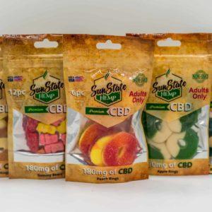 Sun State Hemp Premium CBD Gummies