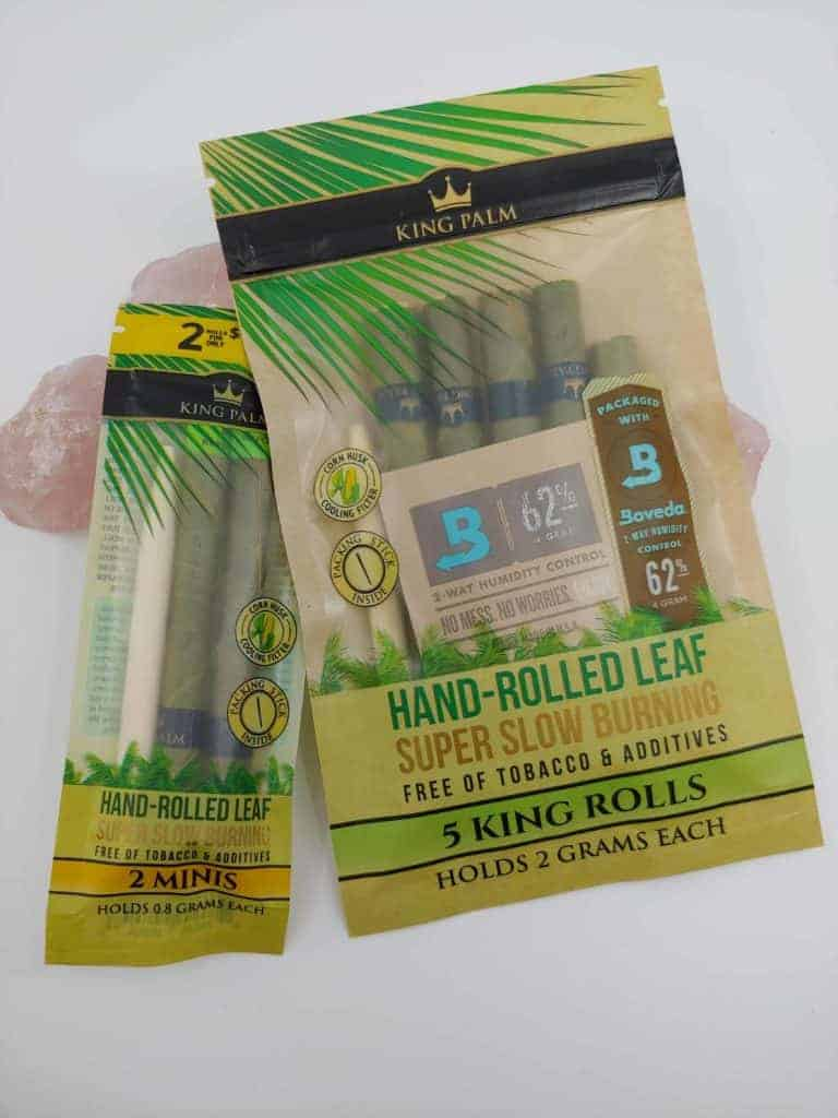 King Palm Hand Rolled Leaf Wraps