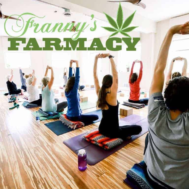 Franny's Farmacy at YogaFest