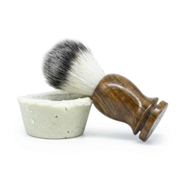 Franny's Farmacy Shaving Soap with Brush