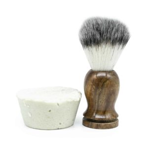 Franny's Farmacy Shaving Soap with Brush