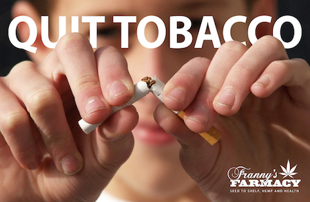 The Use Of CBD For Quitting Tobacco