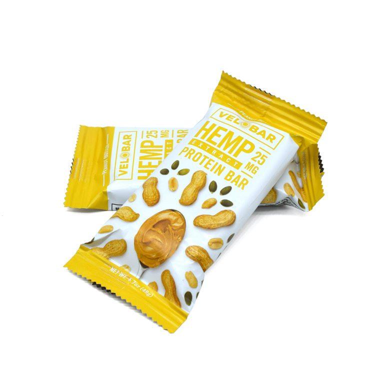 Velo Peanut Butter Bars